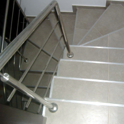 balustrada simpla inox